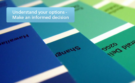 Understand your options - Make an informed decision